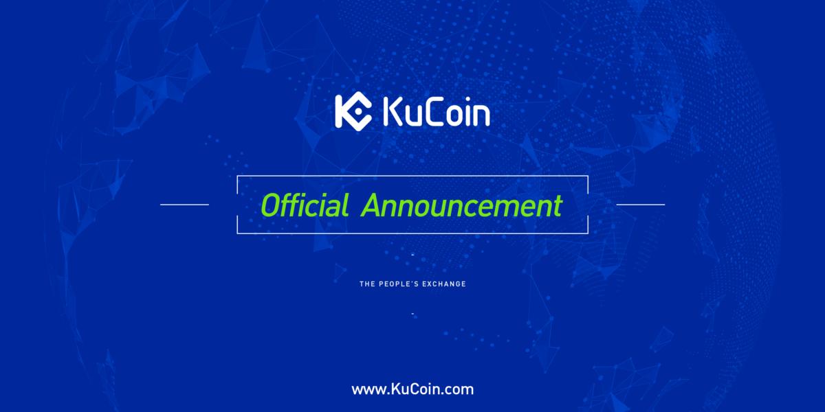 Kucoin präsentiert: Altcoins/Tokens kaufen mit Kreditkarte