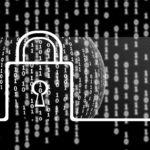 PGP Verschlüsselung symbolisiert mit einem Metall-Schloss